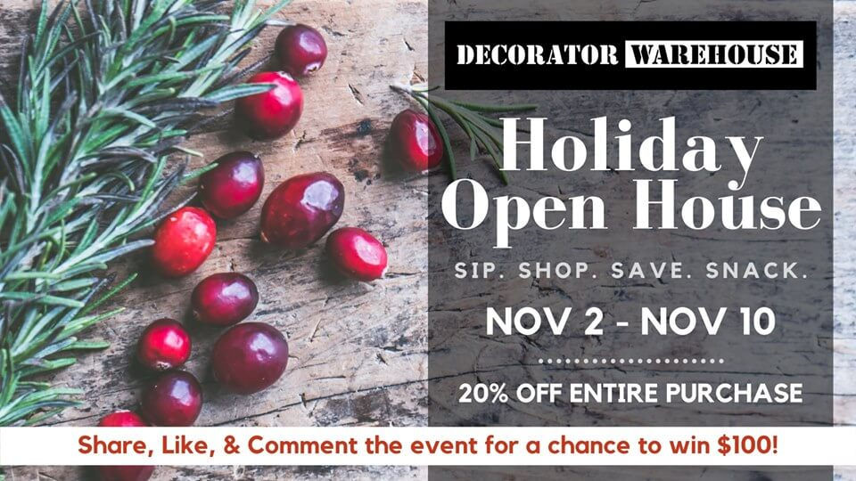 Decorator Warehouse Open House