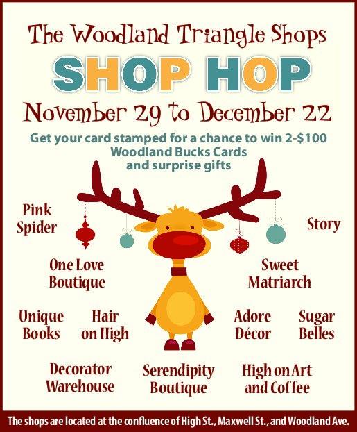 The Woodland Triangle Shops: SHOP HOP